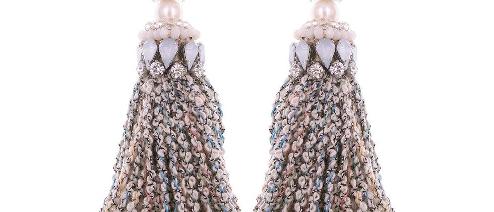 Abela Earrings Beige