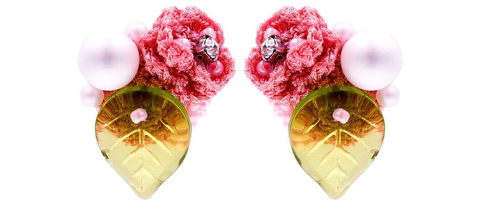 Eleanor Earrings Pink