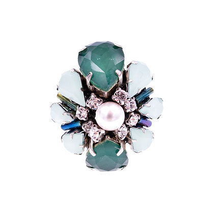 Theodora Ring Green