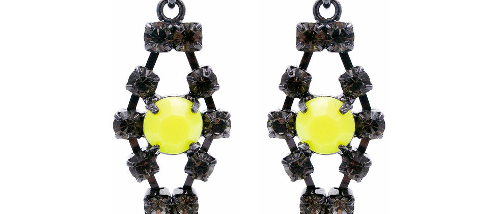 Euphraxia Earrings Yellow