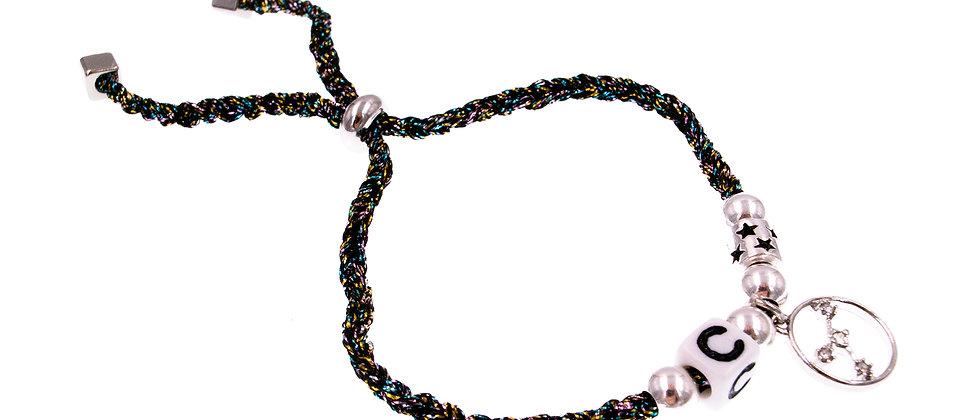 """Amelie Jewelry Zodiac """" Cancer """" Friendship Bracelet"""