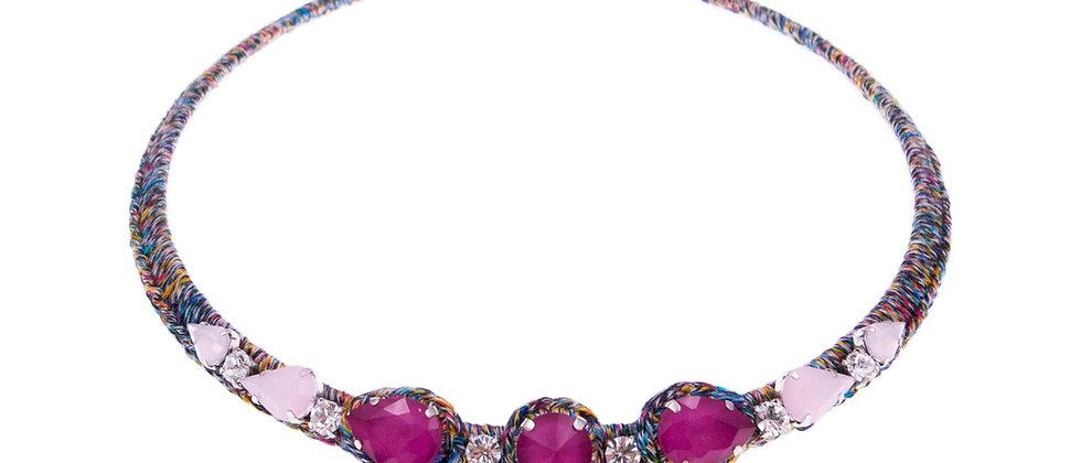 Amelie Jewelry Aaliyah Choker Pink