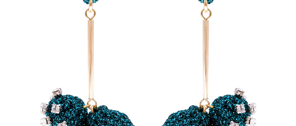 Amelie Jewelry Keturah Earring Blue