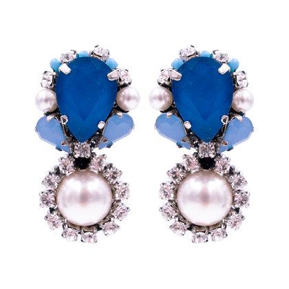 Clementine Earrings Blue