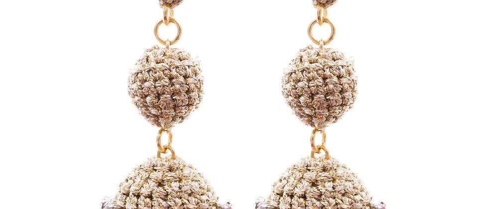 Amelie Jewelry Drusilla Earrings Gold