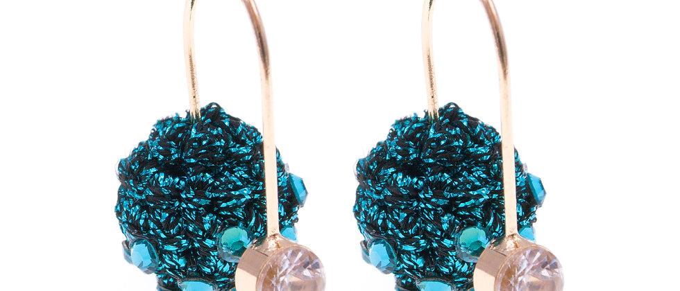 Amelie Jewelry Salome Earrings Blue
