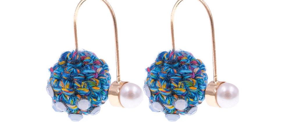 Amelie Jewelry Esther Earrings Blue