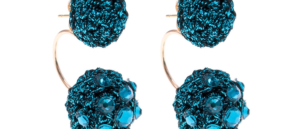 Amelie Jewelry Keziah Earrings Blue
