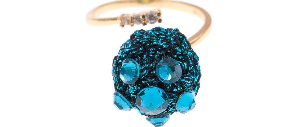 Amelie Jewelry Keziah Ring Blue