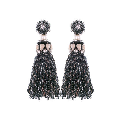 Abela Earrings Black