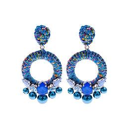 Aaliyah Earrings Blue