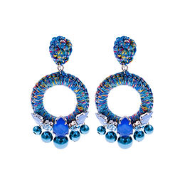 Aaliyah Earrings Blue