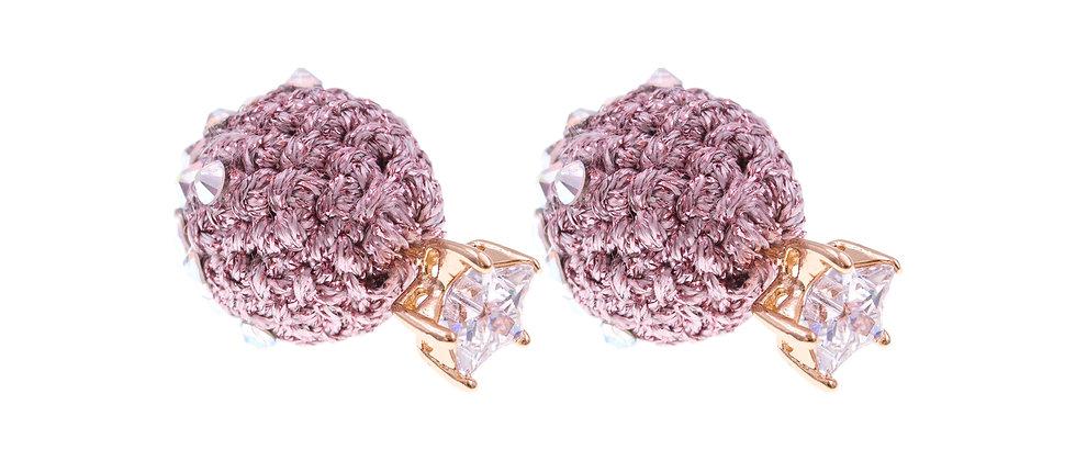 Amelie Jewelry Naomi Earrings Pink