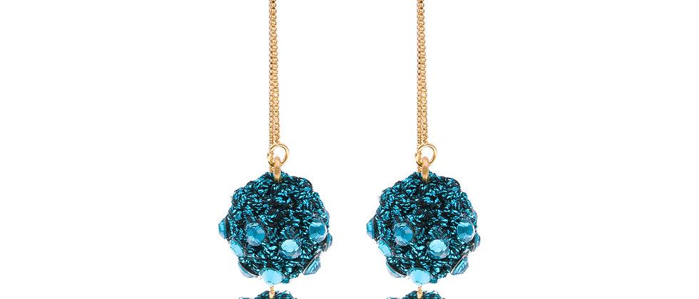 Amelie Jewelry Claudia Earrings Blue