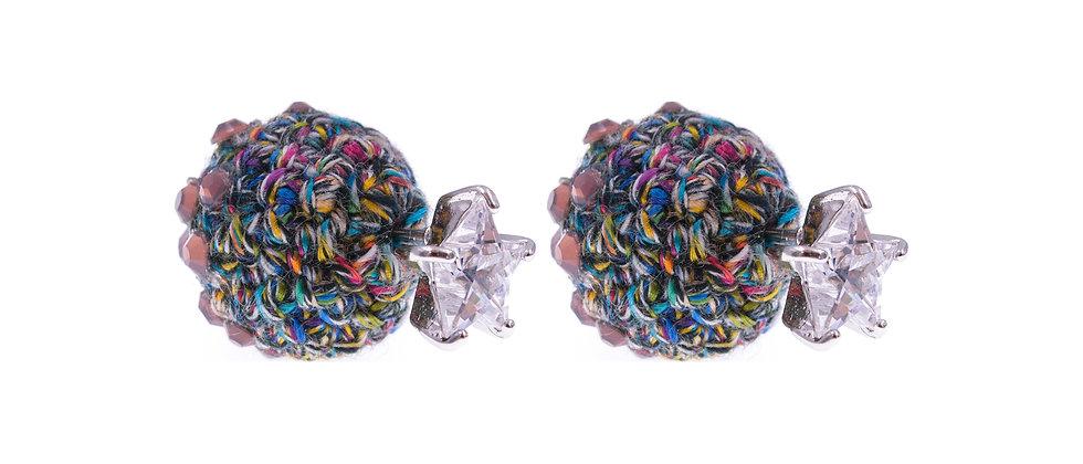 Amelie Jewelry Leah Earrings Purple