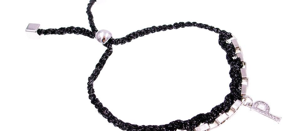 """Amelie Jewelry Initial """" P """" Friendship Bracelet"""
