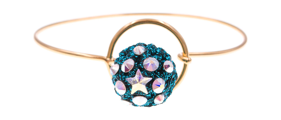 Amelie Jewelry Naomi Bangle Blue