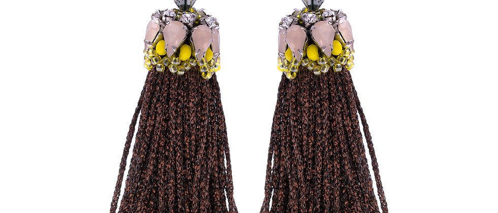 Eloise Earrings Yellow