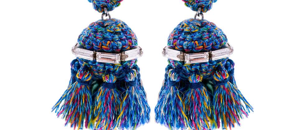 Amelie Jewelry Jemima Earrings Blue