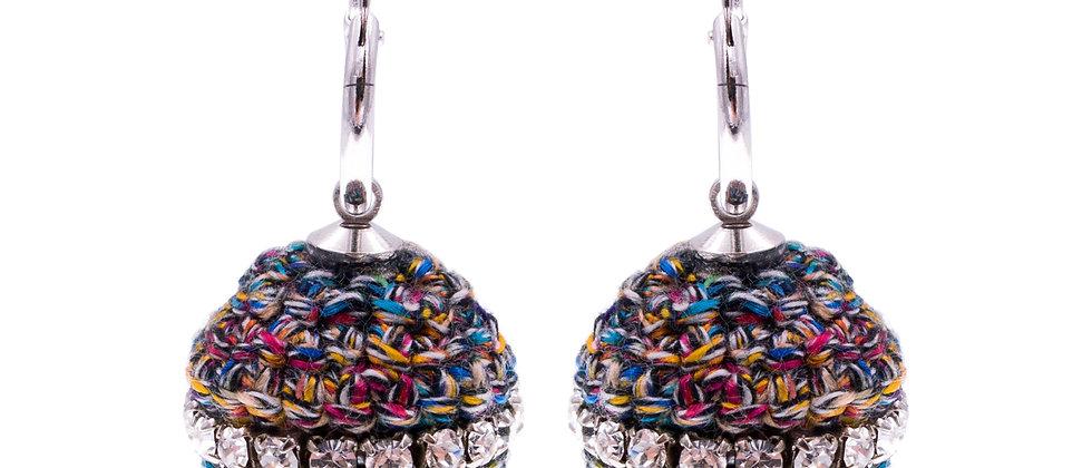 Amelie Jewelry Abarrane Earrings Rainbow