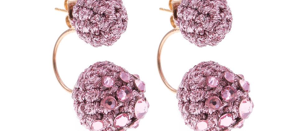 Amelie Jewelry Keziah Earrings Pink