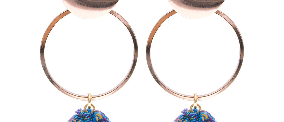Amelie Jewelry Lois Earrings Blue