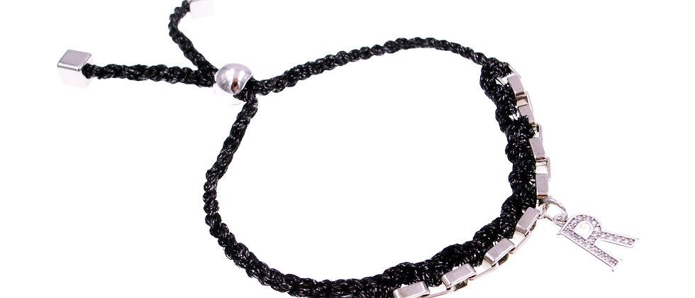 """Amelie Jewelry Initial """" R """" Friendship Bracelet"""