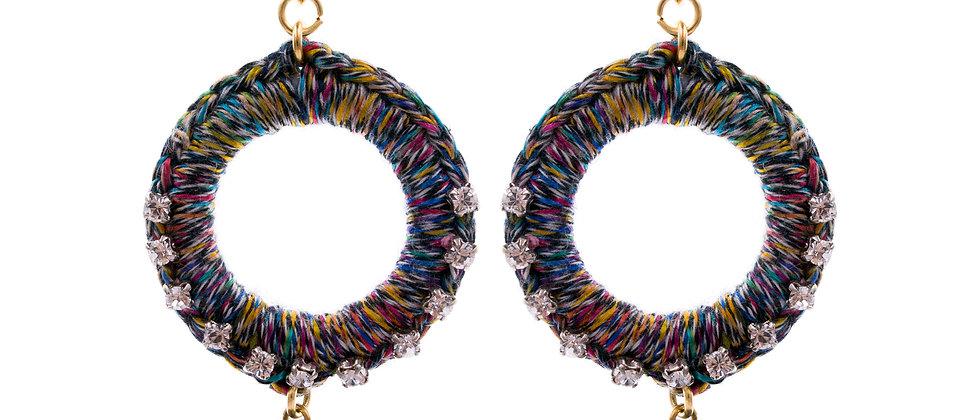 Amelie Jewelry Deborah Earrings Rainbow