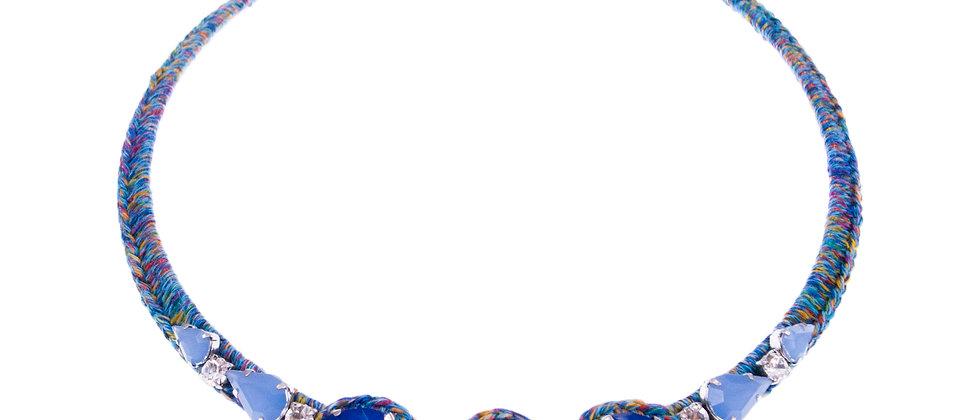 Amelie Jewelry Aaliyah Choker Blue