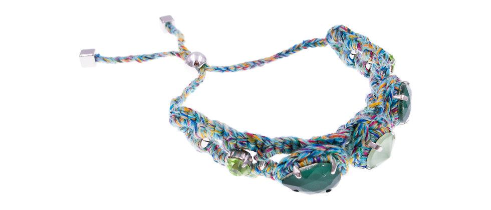 Amelie Jewelry Aaliyah Bracelet Green