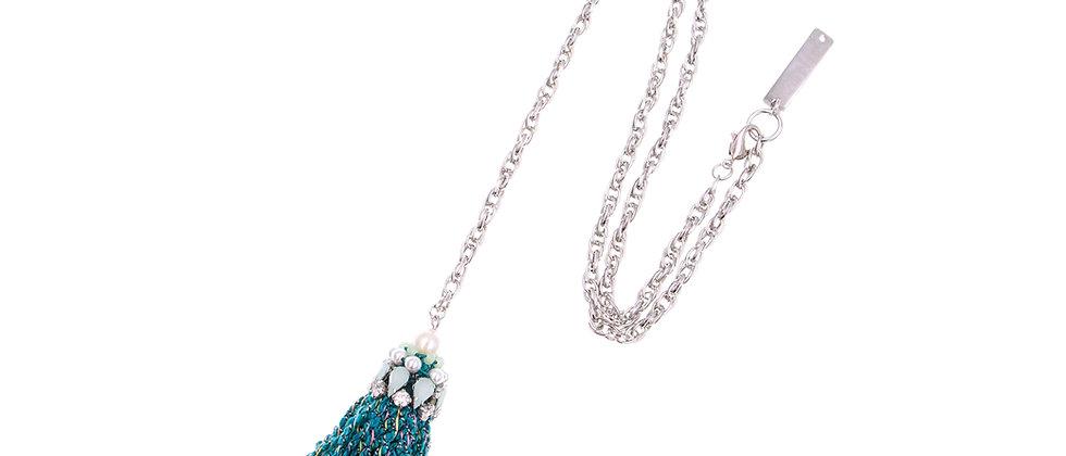 Abela Necklace Green