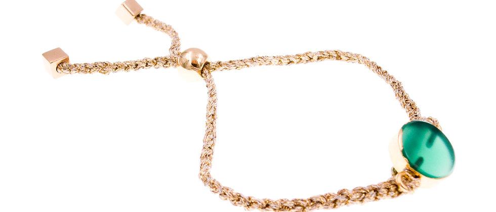 Amelie Jewelry Havilah Friendship Bracelet Green