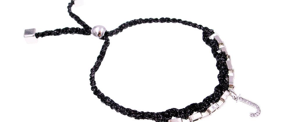 """Amelie Jewelry Initial """" J """" Friendship Bracelet"""