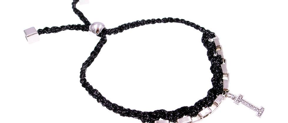 """Amelie Jewelry Initial """" I """" Friendship Bracelet"""
