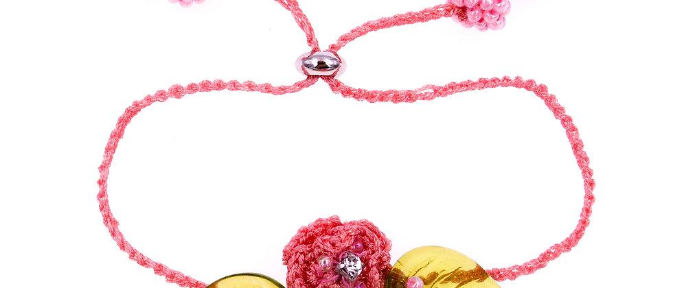 Eleanor Bracelet Pink
