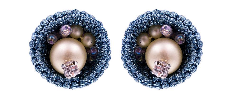 Adriana Earrings Purple