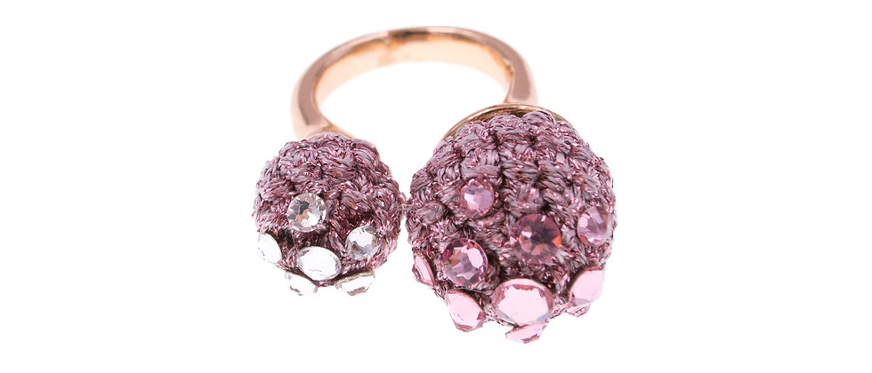 Amelie Jewelry Claudia Ring Pink