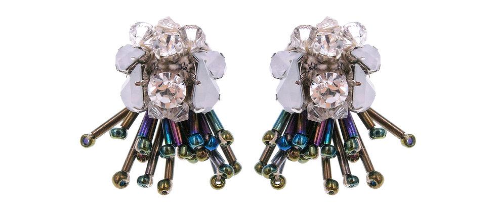 Miriam Earrings Beige