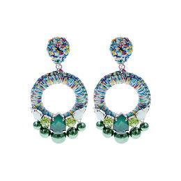 Aaliyah Earrings Green