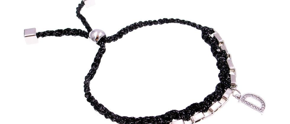 "Amelie Jewelry Initial "" D "" Friendship Bracelet"