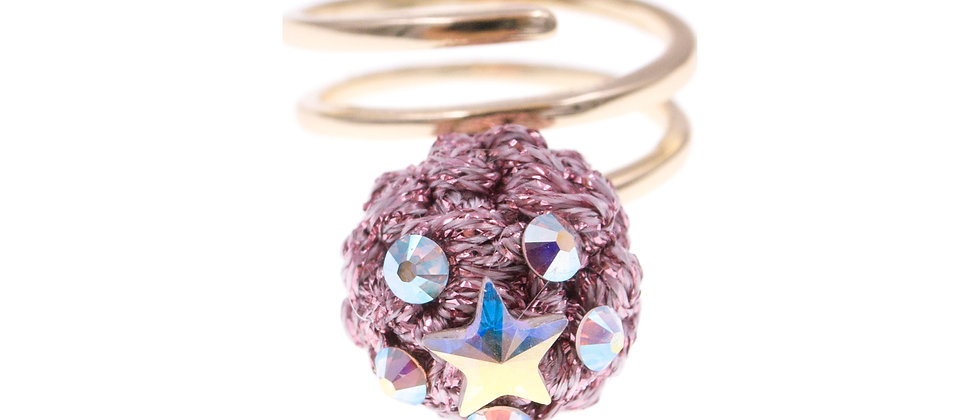 Amelie Jewelry Naomi Ring Pink