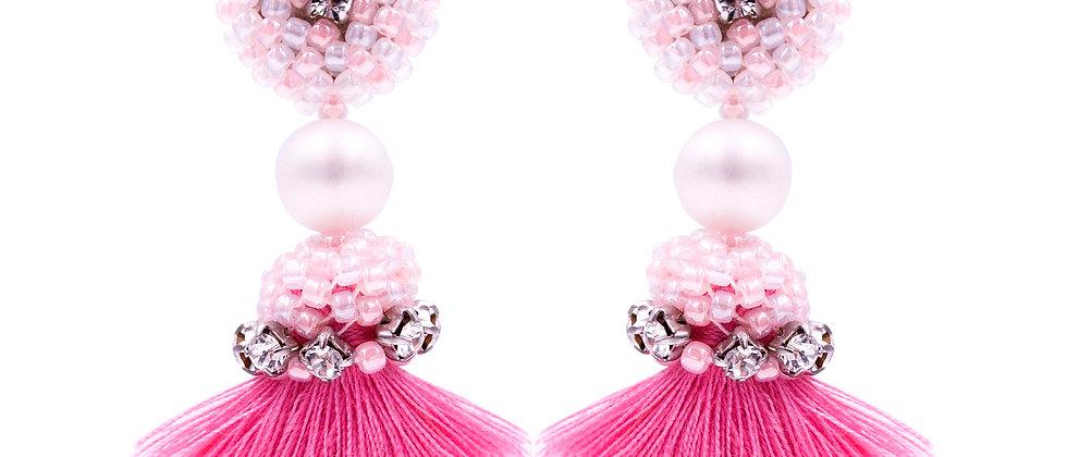 Anastasia Earrings Pink