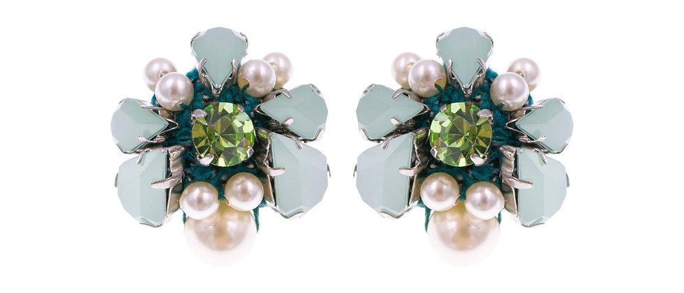 Hannah Earrings Green