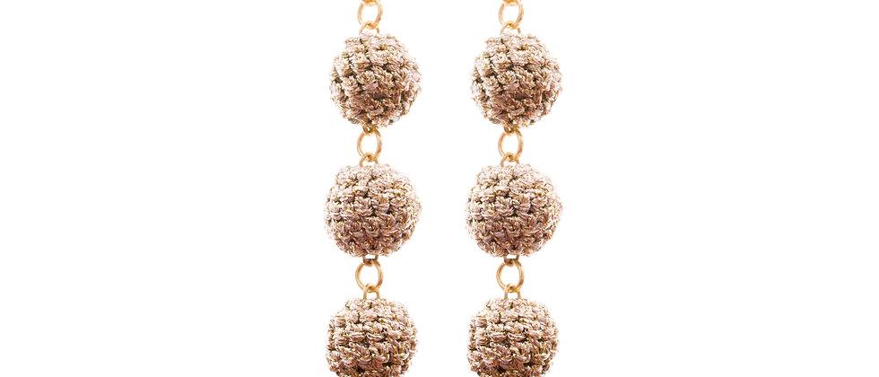 Amelie Jewelry Abigail Earrings Gold