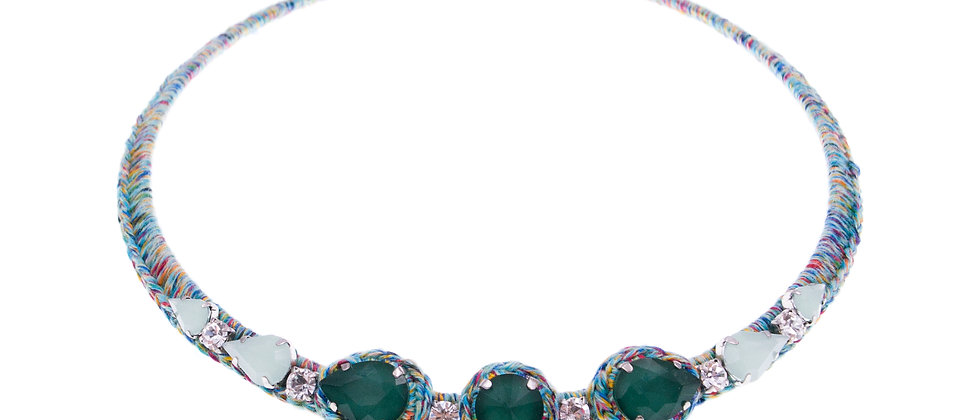 Amelie Jewelry Aaliyah Choker Green
