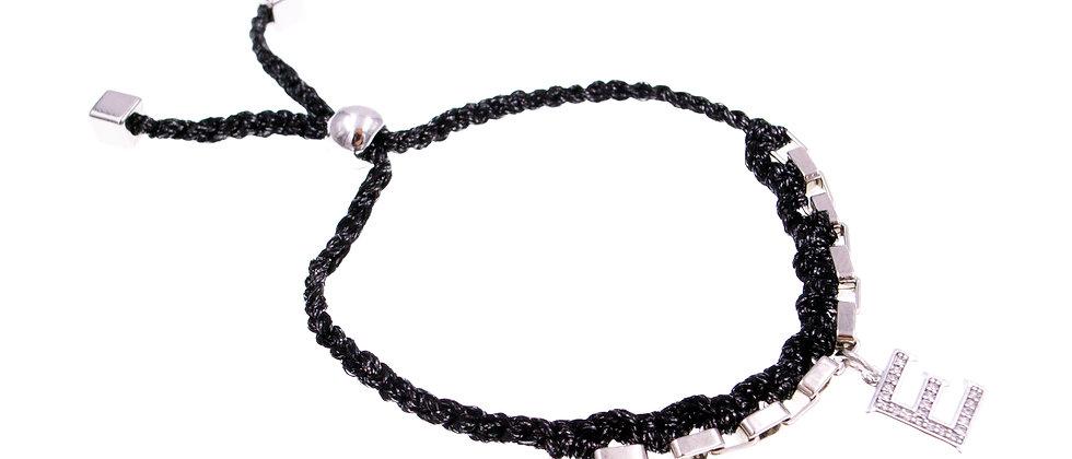 """Amelie Jewelry Initial """" E """" Friendship Bracelet"""