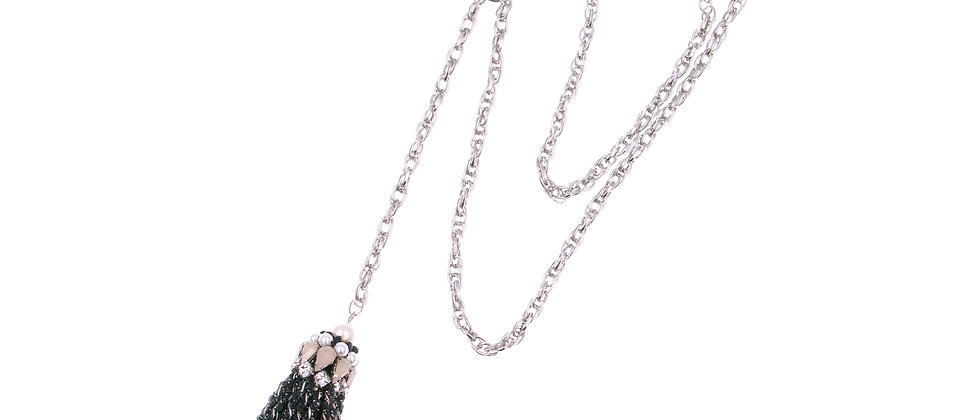 Abela Necklace Black