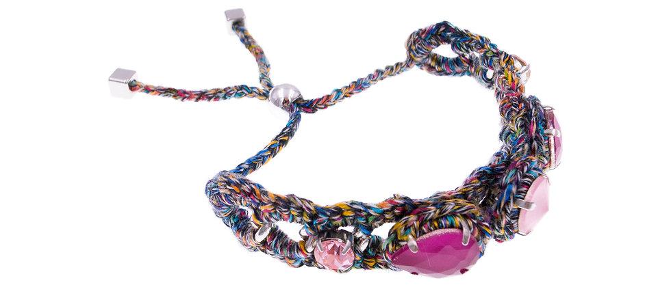 Amelie Jewelry Aaliyah Bracelet Pink