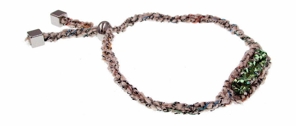Amelie Jewelry Crystal Friendship Bracelet Beige