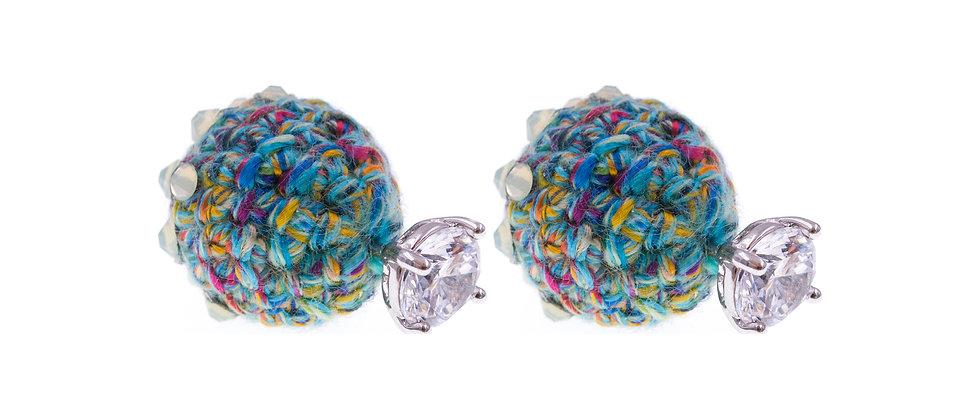 Amelie Jewelry Eve Earrings Green